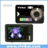 "anti-shake digital camera with 2.4"" touch screen and"