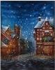 christmas scenic backdrops photo studio/muslin background