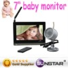 digital baby monitor 7 inch digital monitor accept paypal