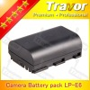 digital camera Li-ion battery pack7.4v 1400mah LP-E6 for dslr Canon EOS 5D Mark II