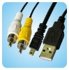 digital camera cable usb av cable for nikon