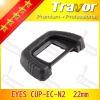 digital camera lens rubber eyecup EC-N2 for NIKON D7000/D200/D80/D90