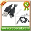 for Nikon UC-E2 Olympus D40 USB to 8 Pin Data Cable