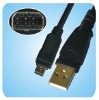 for OLYMPUS CB-USB6 USB CAMERA CABLE TYPE A to 12 PIN DCUP-14