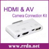 iRC-06 Camera Connection Kit With HDMI and AV Port