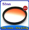 lens gradual color filter 52MM camera filter