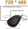 mini 720*480AVI 808 car key digital camera