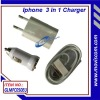 mobile phone 3 in 1 emergency  charger  for GLMFC050