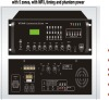 music mixer amplifier with MP3, timing and phantom power