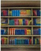 muslin bookshelf backdrop photo studio/muslin background