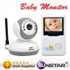 new 2-way talk Digital 2.4G Wireless Baby Monitor
