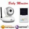 new 2-way talk Digital 2.4G Wireless Baby Monitor IR Camera Home security surveillance