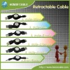 retractable USB Extension Cable for any model charger