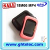 self-drfined MP4 player in red&black