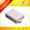 travor LP-E5 with 7.4v 1000mah for canon li ion battery pack