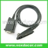 two way radio accessory programming cable for Motorola walkie talkie GP328 GP318