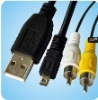 usb av cable for nikon camera cable