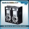 usb sd fm active multimedia speaker audio system loudspeaker